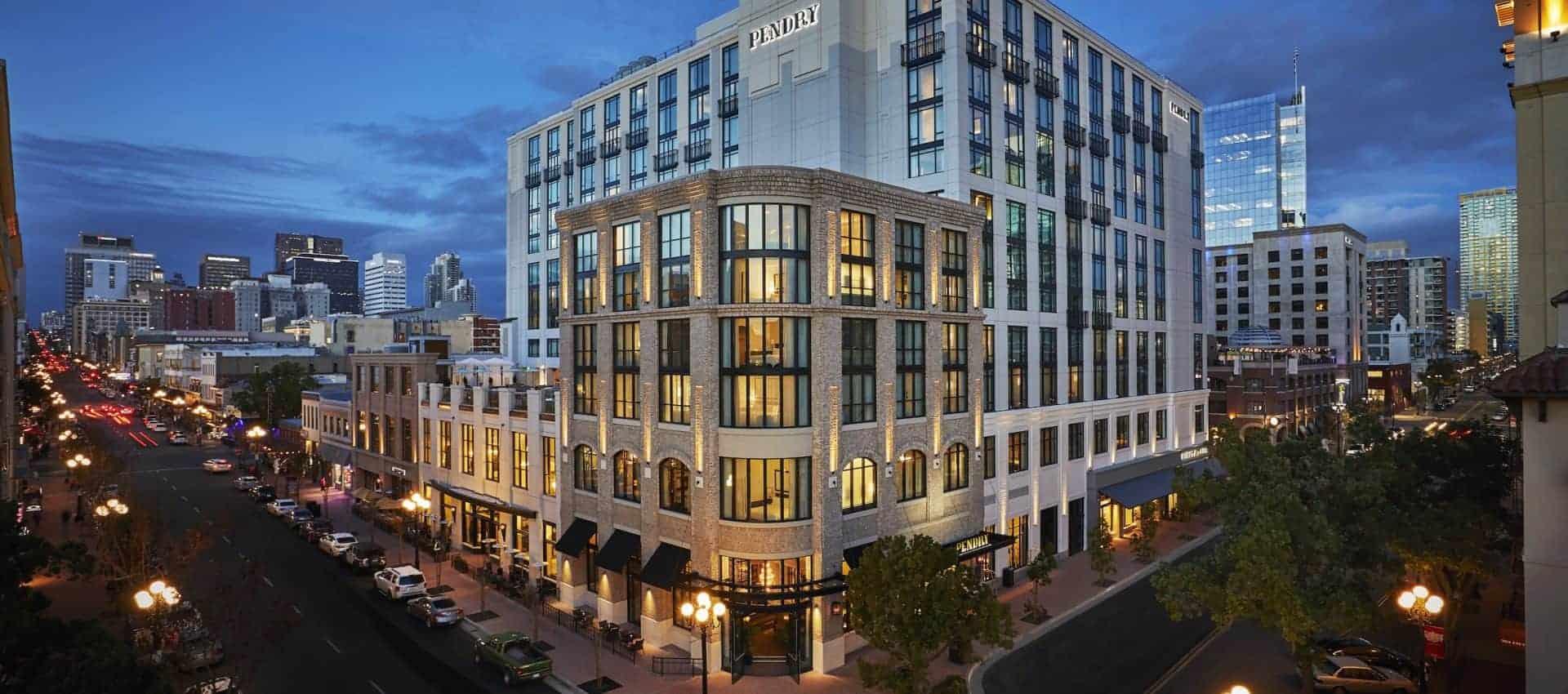 Hotels In San Diego >> San Diego Boutique Hotel Gaslamp Hotels Pendry San Diego