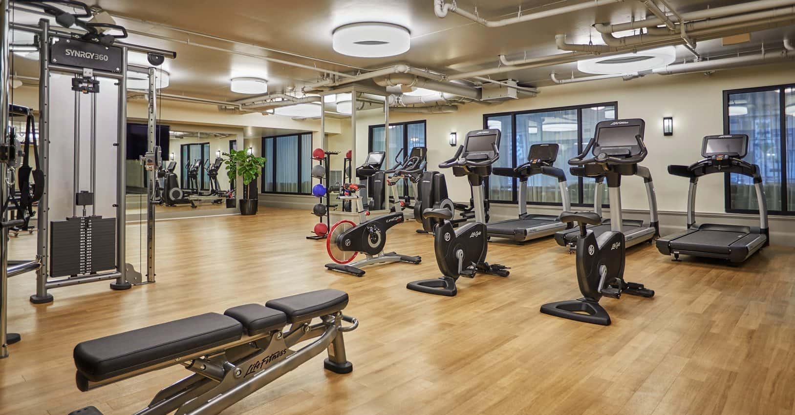 Luxury San Diego Hotel Fitness Studio | Pendry San Diego